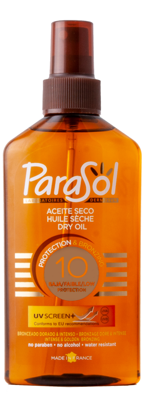 SPRAY ACEITE SECO SPF 10 200ml